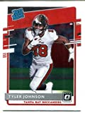 Tyler Johnson 2020 Panini Donruss Optic Rated Rookie Card #192 - Unsigned Football Cards. rookie card picture