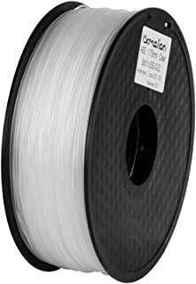 Pxmalion ABS 3Dプリンター用フィラメント素材 マテリアルABS樹脂材料 1.75mm径 正味量1KG(2.2LB) 精確度+/- 0.03mm だいぶの3Dプリンターと3Dプリントペンが適用 (透明/クリア)