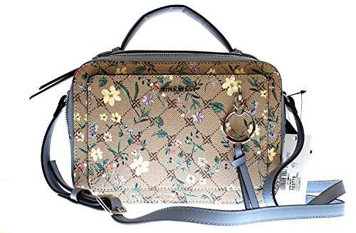 Nine West Women's Ring Leader Camera Bag Shoulder, - Floral Logo - Größe: Medium