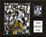 C & I Collectables NCAA Fußballschild Tom Brady Michigan Wolverines