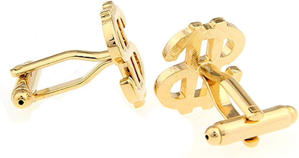 Dollar Sign Currency Cufflinks Money Wedding Gift