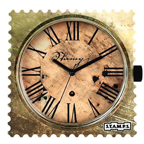 S.T.A.M.P.S. Stamps Zifferblatt Time Lord mit zusätzlicher Batterie und Sticker