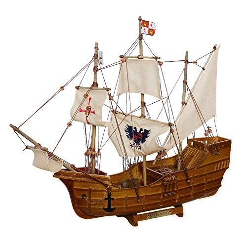 Modelo militar de velero, modelo de guardia de los Estados Unidos del halcón del mar, decoración del hogar y regalos, 14.2 pulgadas x 11.8 pulgadas