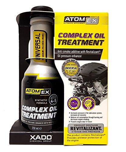 XADO Atomex Stoppt Motoren-Rauch durch Öl-Verbrennung - Anti-Rauch Additiv mit Revitalizant®
