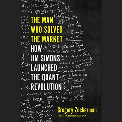 The Man Who Solved the Market audiobook cover art