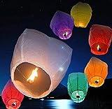 khakey Cottton® Paper//Colorful Make A Wish High ||Flying Sky ||Parachute Hot Air Lantern
