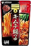 ミツカン キムチ鍋つゆ ストレート 750g