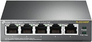 TPLINK 5-Port Gigabit Desktop Switch with 4-Port PoE TL-SG1005P