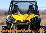 New Full CanAm Commander 800 1000 Windshield Fit 2011-2019