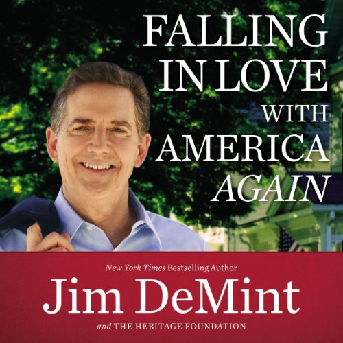 Falling in Love with America Again audiobook cover art