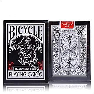 Bicycle Black Tiger Ellusionist Original Bicycle Poker Bicycle Regular Playing Cards Rider Back Standard Sealed Decks Magic Playing Cards