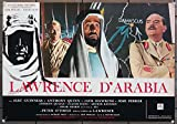 Lawrence Of Arabia (1962) Original Italian Movie Poster 18x27 Re-release of 1963 PETER O'TOOLE SIR ALEC GUINNESS JACK HAWKINS Film Directed by DAVID LEAN