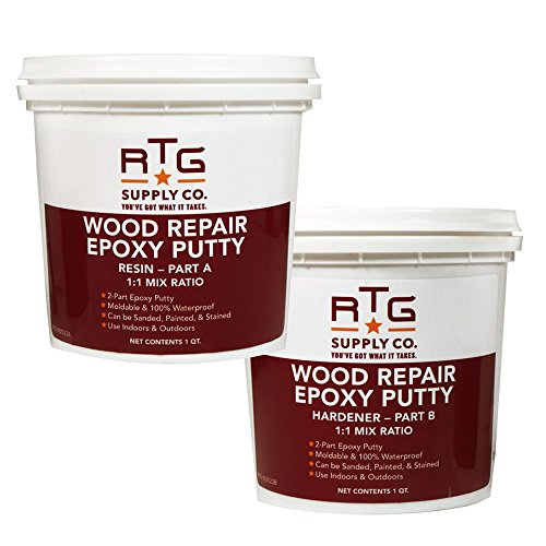 RTG Wood Repair Epoxy Putty (2-Quart Kit)