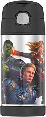 THERMOS FUNTAINER F4101 Stainless Steel Kids Bottle, 12 Ounce, Avengers Infinity War