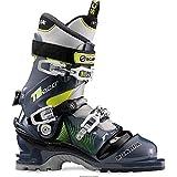 SCARPA T2 Eco Ski Boots (Blue Graphite/Yellow, 31)
