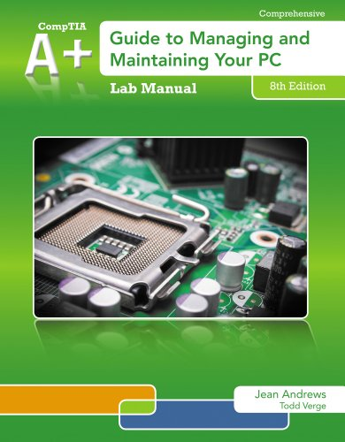 Price comparison product image Lab Manual for Andrews' A+ Guide to Managing & Maintaining Your PC