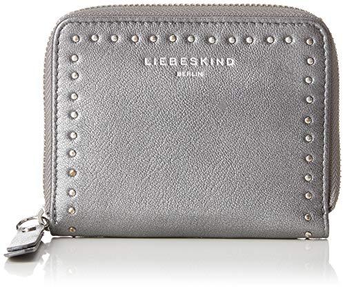 Liebeskind Berlin Damen Slconnyw8 Slov2m Geldbörse, Silber (Silber (Iron Silver), 3.0x13.0x10.0 cm