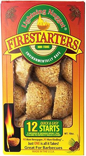 Lightning Nuggets Inc 0-47815-14175-7 12-Count Firestarters