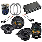 Harmony Audio Compatible with 1997-2006 Jeep Wrangler HA-R46 HA-R65 New Factory Speaker Replacement Upgrade Package