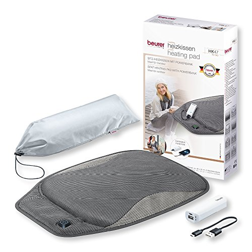 Beurer Mobile Seat Heating Pad with Pow