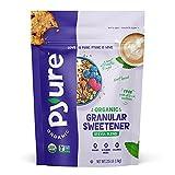 Pyure Organic Stevia Sweetener Blend, 2:1 Sugar Substitute, Granular All-Purpose, 2.5 Pound (40 Ounces)