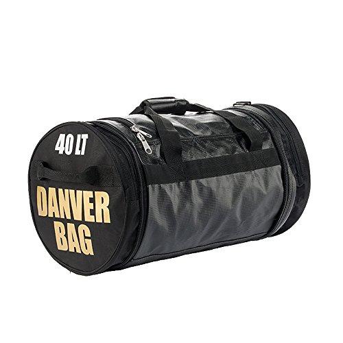 Danver Total Carbon - Bolsa de Deporte, Unisex–Adulto, Unisex Adulto, Total Carbon, Negro, M