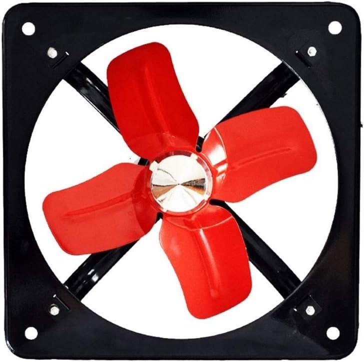 DYXYH Extractor de ventilación Industrial Potente, Extractor axial de Metal, Ventilador Comercial para Cocina, Dormitorio
