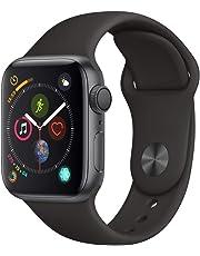AppleWatch Series4(GPSモデル)- 40mmスペースグレイアルミニウムケースとブラックスポーツバンド