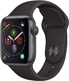 Apple Watch Series 4 (GPS, 40mm) Aluminio en Gris Espacial - Correa Deportiva Negro