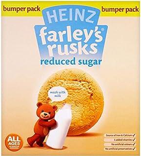 Farleys Rusks 4 Month Reduced Sugar Original 18 Pack 120g
