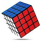 FAVNIC 魔方 キューブ4x4x4【6面完成攻略書付き】競技用 立体パズル 知育玩具 (滑り止め4x4)