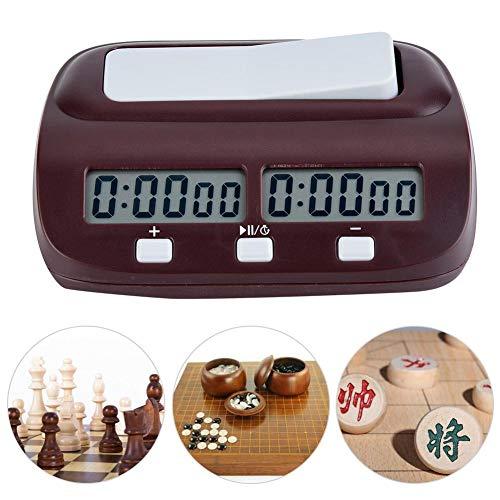 Schach Timer, Schachuhr Brettspiel Set Timer Chinesische Schachspiele Electronic Calculagraph