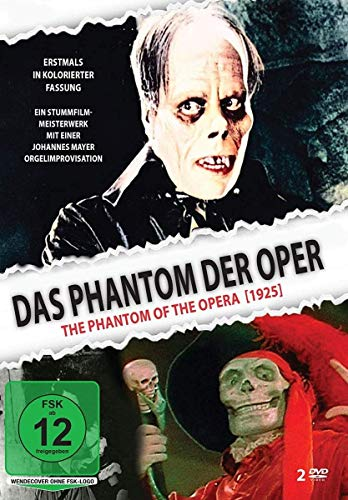 Das Phantom der Oper - The Phantom of the Opera (1925) - zusätzlich mit kolorierter Fassung [2 DVDs]