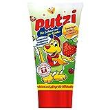 Putzi Zahncreme für Kinder Erdbeere - 6er Pack (6 x 50ml) -