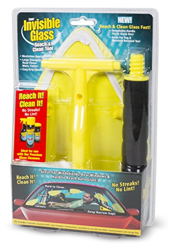 Stoner Car Care 95160 Invisible Glass Reach and Clean Tool (2-Piece Auto Kit)