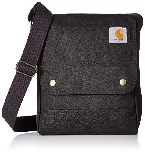 Carhartt Crossbody Bag, Bolsa de mensajero de equipaje para Mujer, Black, OFA