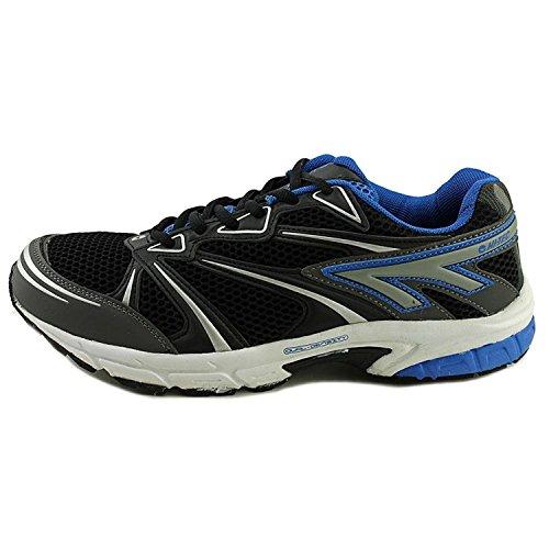 HI-TEC Mens Phantom Work Out Fitness Running Shoes Black 13 Medium (D)