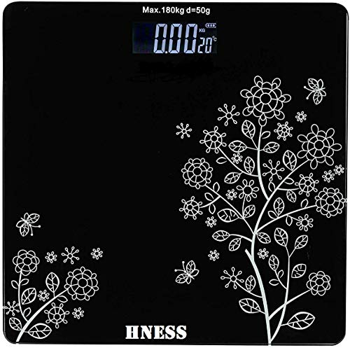 HNESS Electronic Thick Tempered Glass & LCD Display Electronic Digital Personal Bathroom Health Body,Health & Personal Care, Home Medical Supplies & Equipment,weight scale for human body