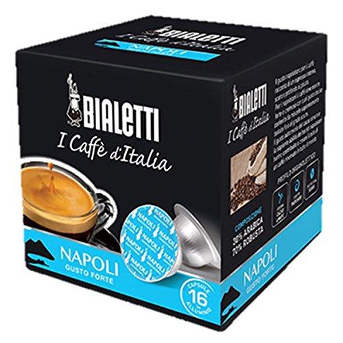160 Aluminium-Kapseln I Caffe' d'Italia Bialetti Mokespresso Napoli Original