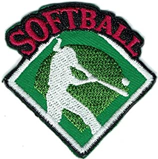 Cub Girl Boy SOFTBALL Embroidered Iron-On Fun Patch Crests Badge Scout Guides