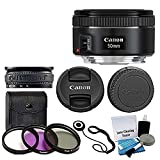 Canon EF 50mm f/1.8 STM Lens For Canon Cameras...