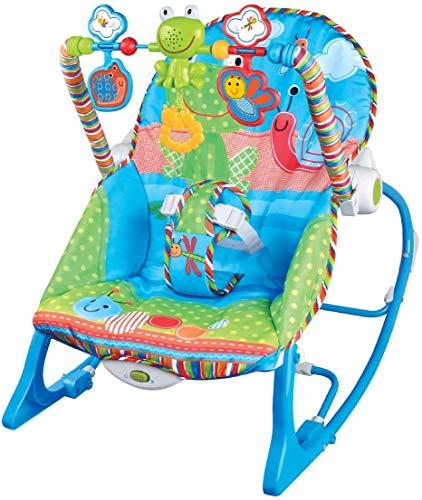 Cadeira de Descanso Musical FunTime Maxi Baby até 18kgs Azul