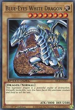 Blue-Eyes White Dragon - SBCB-EN087 - Common - 1st Edition
