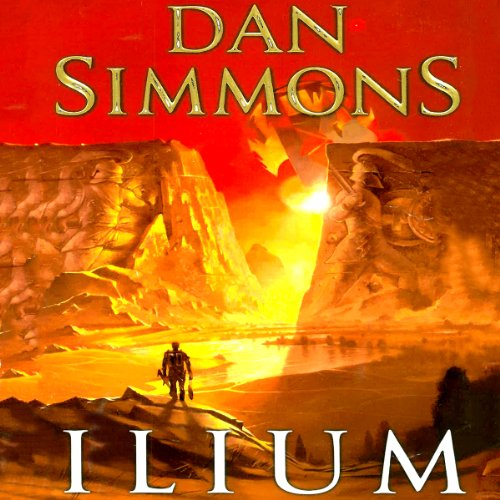 Ilium audiobook cover art