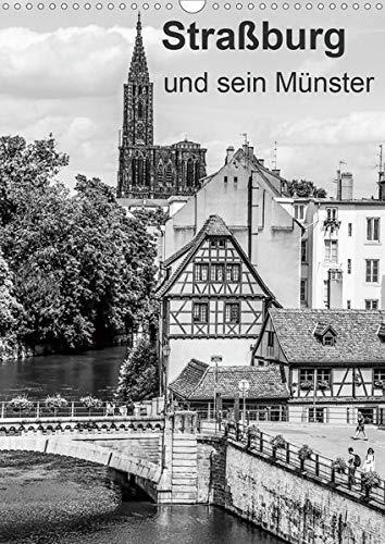Straßburg und sein Münster (Wandkalender 2020 DIN A3 hoch): Fotogene Ecken der größten Stadt im Elsass (Monatskalender, 14 Seiten ) (CALVENDO Orte)