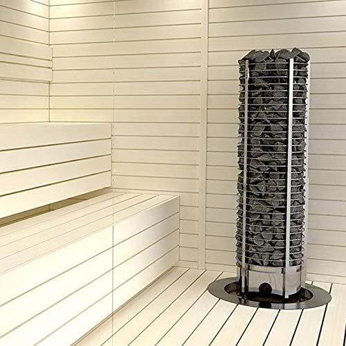 Sawo Elektrische Saunaöfen Tower Round Th3: Leistung: 3,5 kW / 4,5 kW / 6,0 kW - 3.5 kW, Steuereinheit: Eingebaut