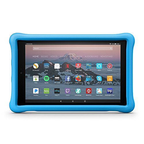 Amazon Kid-Proof Case for Amazon Fire HD 10 Tablet (7th Generation, 2017 Release), Blue