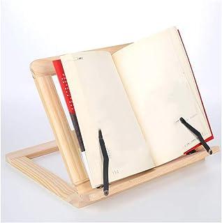 chengJellyLibrary Soporte de Madera para Estante de Lectura Style 1 Tableta PC Caballete Soporte para Dibujo