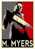 Poster Halloween - Propaganda Horror - Michael Myers - A3