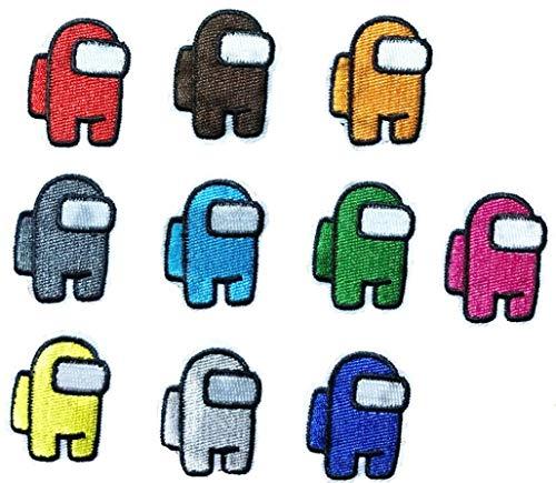Parches Termoadhesivos Infantiles Decorativos Ropa 10 Piezas Parches para Chaquetas Sombrero Ropa Bolsas Decoración